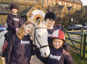 "The launch of ""Hoof"""